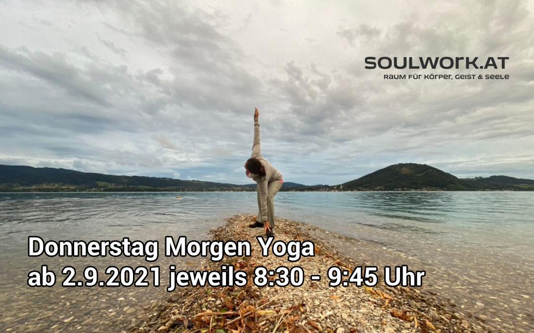 Donnerstag Morgen Yoga