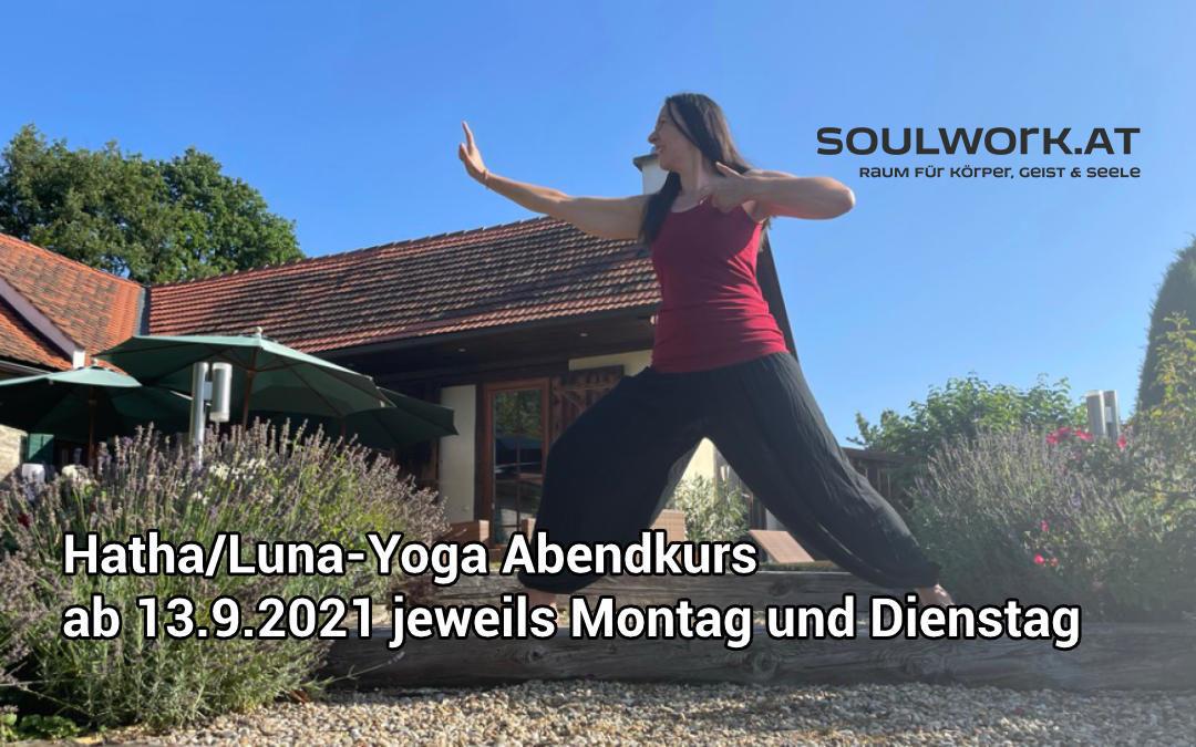 Hatha/Luna-Yoga Abendkurs